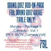 Sound Quiz PK11_MOV_Comedy Vol1 add on pack