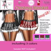[Simply Me!] Groupgift / Promo Christmas Skirts - Maitreya, Belleza, Slink, TMP