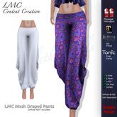 LMC Meshes - Draped Pants - Budget Range - Wide Trousers