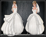 [Wishbox] The Alisandra Wedding Gown (White) - Fairytale Princess Dress Medieval Fantasy Bridalwear
