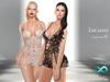 LeCastle - Amia Laced Up Mini Dress / Maitreya / Slink / Belleza / TMP / HUD