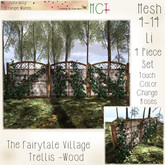 ~ASW~ The Fairy Tale Village Trellis