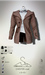 [sYs] CHESTER coat M (fitted & body mesh) - brown