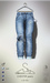 [sYs] CHESTER jeans M (fitted & body mesh) - used