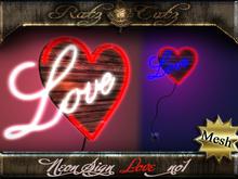 .: RatzCatz :. Neon Sign LOVE no.1