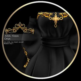 -AZUL- Kaya /Onyx
