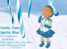 {HCM} CandyCane Sprite Blue {Boxed}