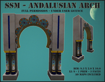 SSM - Andalusian Arch