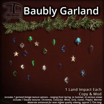 [DDD] Baubly Garland - Texture Change Garland <3