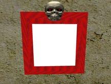 static skull frame Pitcher frame