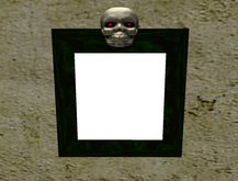 dark green moveing Picture Frame