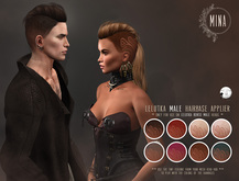 MINA hairbase HUD - Angel tatoo - Lelutka male head - [Add]