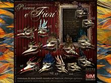 "!dM ""Piume e Fiori"" **THE CARDINAL** (BOX #13)"