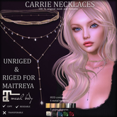 *AvaWay* CARRIE  Necklaces