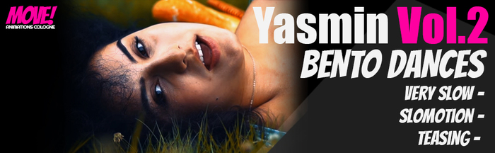 Yasmin Vol.2 Bento Dancepack - MOVE! Animations Cologne