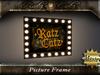 .: RatzCatz :. Wooden Picture Frame with Lamps