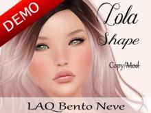 "Lola Shape ""LAQ Bento Neve Head"" Demo"