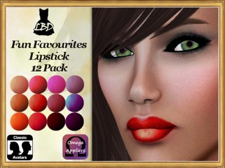 *LBD* Fun Favourites Lipstick 12 Pack