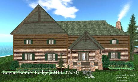 Logan Family Lodge(204LI, 37x33)