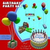 Careless PARTY Set -Birthday