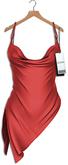 "Asteria ""Gia"" [Maitreya/Belleza] Asymmetric Dress - Red"