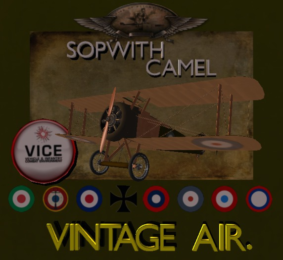 2018 Vintage Air  Vice Sopwith Camel
