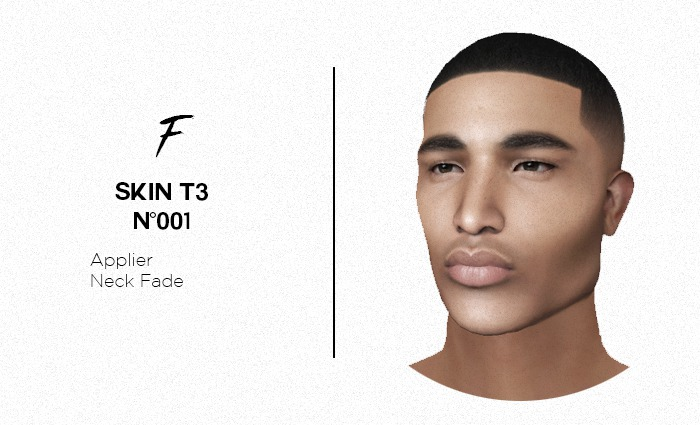 F / Skin #001 T3
