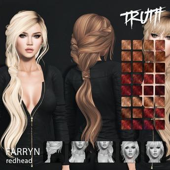 TRUTH Farryn (Fitted Mesh Hair) - Redhead