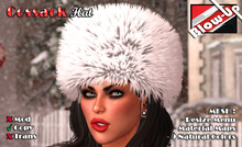 ✪Blow-Up✪ Cossack Hat - Fur Hat in 9 Natural Colors