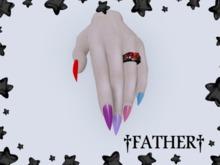 +FATHER+ - Maitreya Simple Nails (Unpack Me)