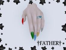 +FATHER+ - Maitreya Snowflake Nails