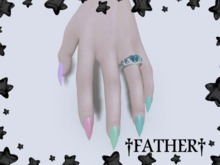 +FATHER+ - Maitreya Easter Nails (Unpack Me)