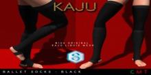 Kaju Ballet socks - Black