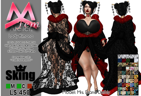 <MK.fem> Lady Kimono Outfit - SKING - BRAZILIA DOLL - KATENA - BIMBO
