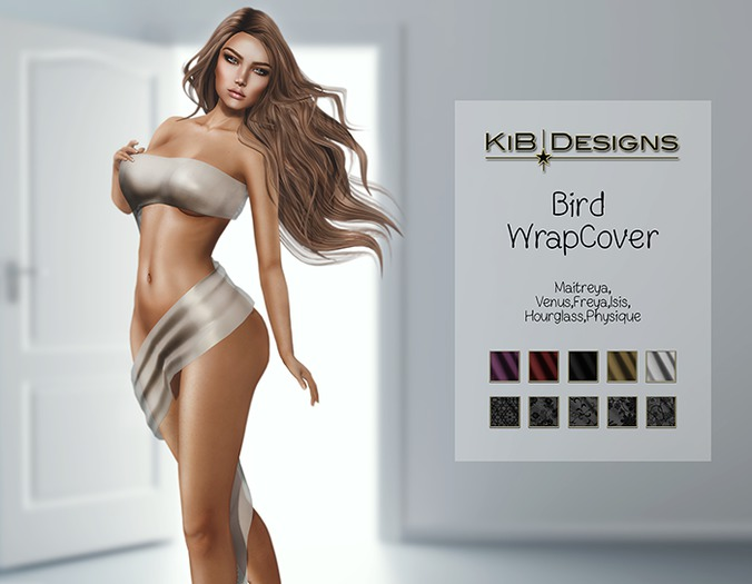 KiB Designs - Bird WrapCover FATPACK