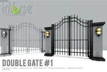 Double gate #1 -  MESH full permission bxd