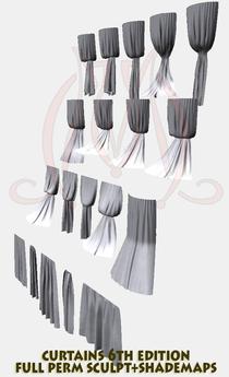 Curtains 6th edition FULL PERM SCULPT+SHADEMAPS