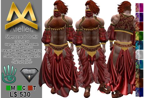 <MK> Sherazard Outfit - Aesthetic Niramyth