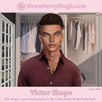 StrawberrySingh.com Victor Shape