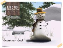 Snowman Sack ♥ CHEZ MOI
