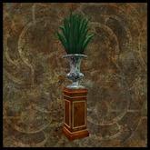 EF-Home: Agave & Planter on Plinth