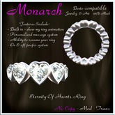 Eternity Of Hearts Ring