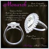 Peyton Pear Engagement Ring