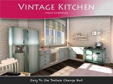 Moco Emporium ~ Vintage kitchen Texture Change Fatpack Low Li  v2
