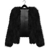 Mimikri - Neve Fur Coat black_Maitreya ,SLink