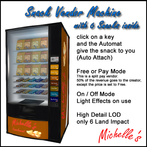 Michelle's Snack Vendor Machine