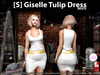 s  giselle tulip dress white pic