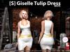 s  giselle tulip dress white pic