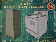 Dirty Kitchen Appliances