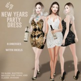 LEGENDAIRE NEW YEARS PARTY DRESS